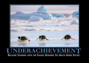 underachievementpenguindemotivator