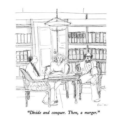 divide and conquer cartoon