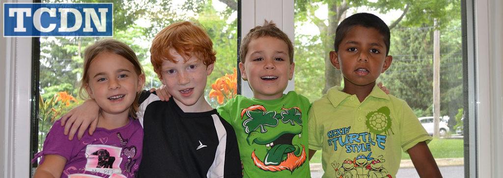 Trinity Cooperative Day Nursery children